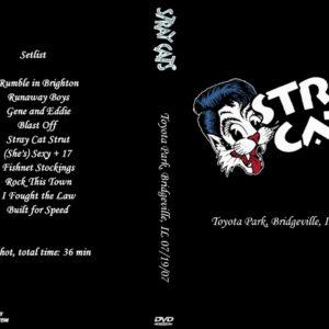 Stray Cats 2007-07-19 Toyota Park, Bridgeville, IL DVD