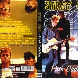 Stray Cats Pink Cadillac TV Collection 1981-83 DVD