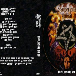 Superjoint Ritual 1998-02-20 Biloxi, MS DVD