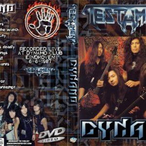 Testament 1987-06-06 Dynamo, Eindhoven, Holland DVD