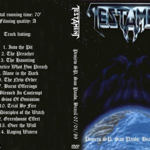 Testament 1989-07-01 Projeto SP, Sao Paulo, Brazil DVD