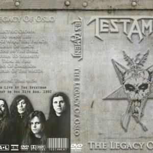Testament 1992-08-31 Spektrum, Oslo, Norway DVD
