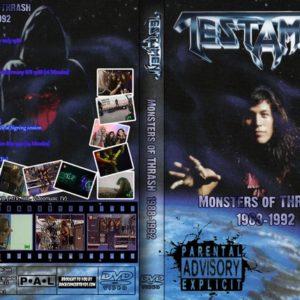 Testament 1992 Monsters of Thrash 1988-1992 DVD