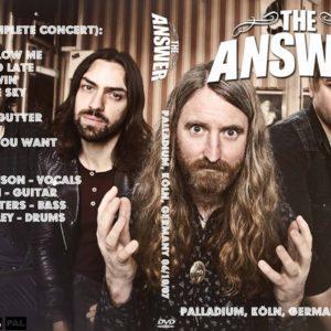 The Answer 2007-06-10 Palladium, Köln, Germany DVD