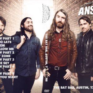 The Answer 2008-03-14 The Bat Bar, Austin, TX DVD