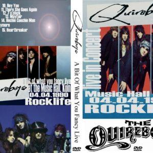 The Quireboys 1990-04-04 Music Hall, Köln, Germany DVD