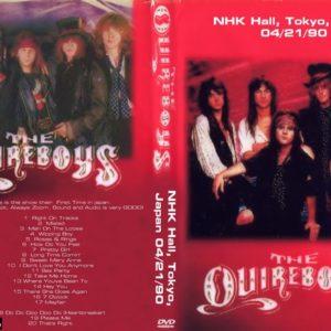 The Quireboys 1990-04-21 NHK Hall, Tokyo, Japan DVD