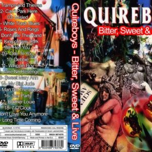 The Quireboys 1993 Bitter, Sweet & Live DVD