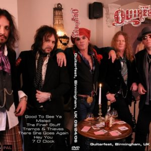 The Quireboys 2006-09-24 Guitarfest, Birmingham, UK DVD