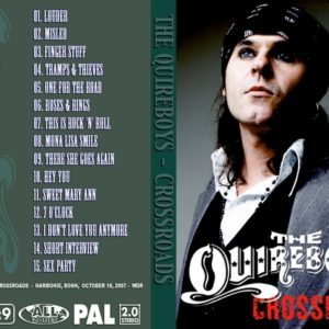 The Quireboys 2007 Rockpalast Crossroads, Germany DVD