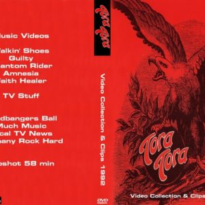 Tora Tora 1992 Video Collection & Clips DVD