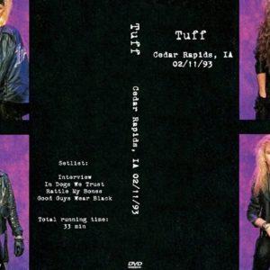 Tuff 1993-02-11 Cedar Rapids, IA DVD