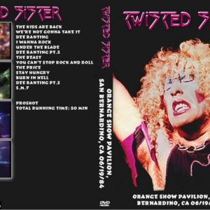 Twisted Sister 1984-06-19 Orange Show Pavilion, San Bernardino, CA DVD