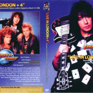 Ace Frehley 1988-03-19 Frehley's Comet Live In London+4 DVD