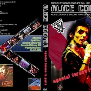 Alice Cooper 1981-82 France TV Special Paris DVD