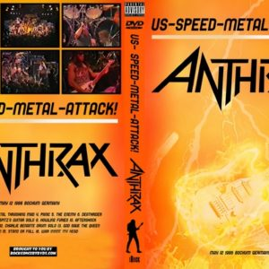Anthrax 1986-05-12 Bochum West Germany DVD