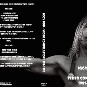 Iggy Pop - Video Compilation 1981-1996 DVD