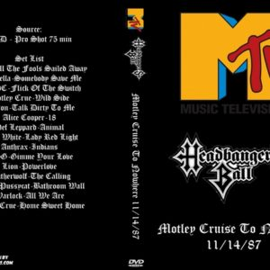 MTV Headbangers Ball 1987-11-14 Motley Cruise To Nowhere DVD