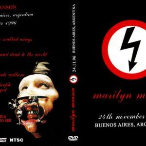 Marilyn Manson 1996-11-24 Buenos Aires, Argentina DVD