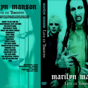 Marilyn Manson 2000-11-18 Toronto Canada DVD