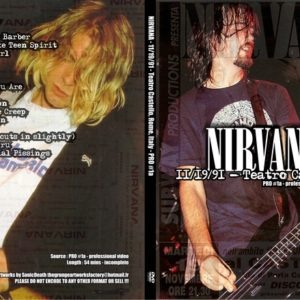 Nirvana_1991-11-19_DVD_Artworks
