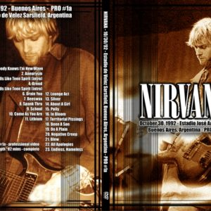 Nirvana_1992-10-30_PRO1a_DVD_Artworks