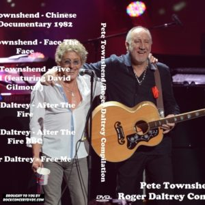 Pete Townshend Roger Daltrey Compilation DVD
