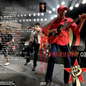 Prophets of Rage 2016-08-24 Molson Amphitheatre Toronto, Ontario, Canada DVD