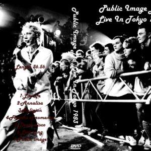 Public Image Limited 1983-07-01 Nokano Sun Plaza, Tokyo, Japan DVD