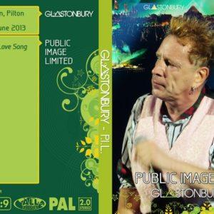 Public Image Limited 2013-06-30 Glastonbury Fest, Pilton, UK DVD