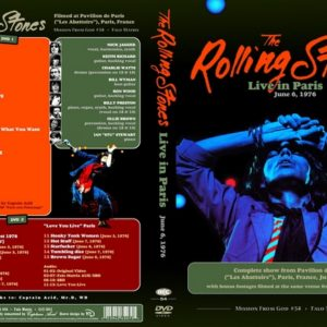 Rolling Stones 1976-06-06 Paris, France 2 DVD