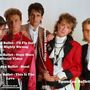 Spandau Ballet Clips DVD