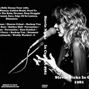 Stevie Nicks In Concert 1981 DVD