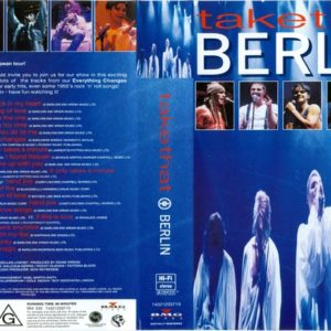Take That Berlin DVD