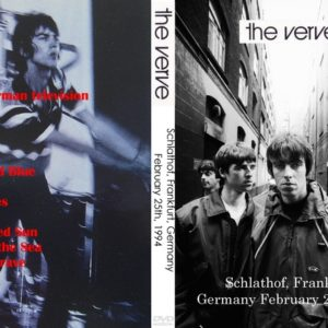 The Verve 1994-02-25 Frankfurt, Germany DVD