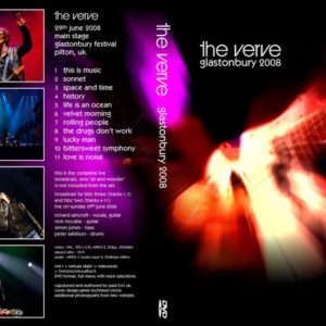 The Verve 2008-06-29 Glastonbury Fest, Pilton, UK DVD