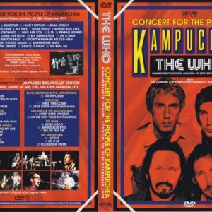 The Who 1979-12-28 Concerts For People Of Kampuchea, Hamersmith Odeon, London UK 2 DVD