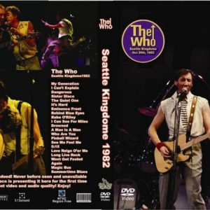 The Who 1982 Seattle Kingdome DVD