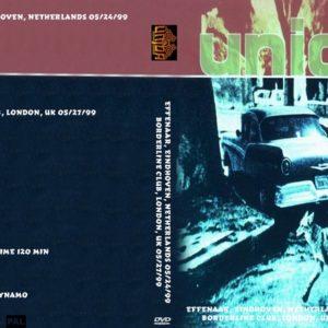 Unida 1999-05-24 Effenaar, Eindhoven, Netherlands + 1999-05-7 Borderline Club, London, UK DVD
