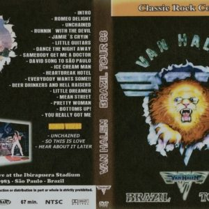 Van Halen 1983-01-21 Ginasio Do Ibirapuera, Sao Paulo, Brazil DVD