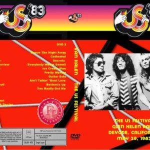 Van Halen 1983-05-29 Glen Helen Regional Park, Devore, CA 2 DVD