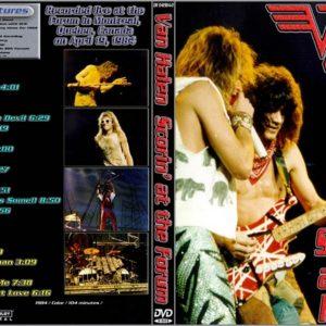 Van Halen 1984-04-19 Montreal Forum, Montreal, QC 2 DVD