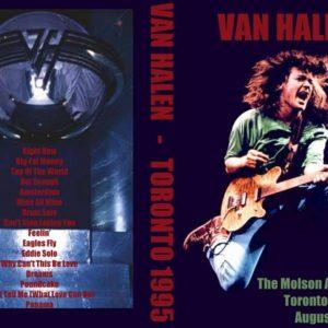 Van Halen 1995-08-18 Molson Amphitheatre, Toronto, ON DVD