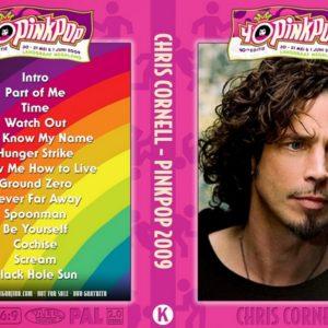 Chris Cornell 2009-05-30 Pinkpop Festival, Landgraaf, Netherlands DVD