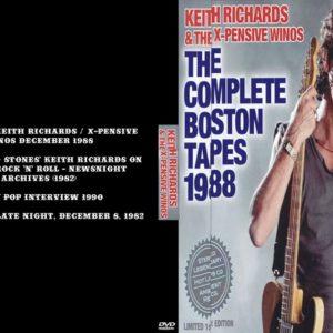 Keith Richards & The Xpensive Winos 1988-12-15 Hollywood Palladium, Hollywood, CA + Bonus DVD