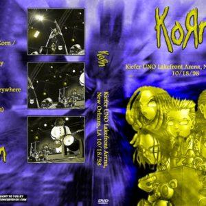 Korn 1998-10-18 Kiefer UNO Lakefront Arena, New Orleans, LA DVD