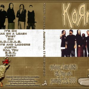 Korn 1999-01-23 Sydney, Australia DVD