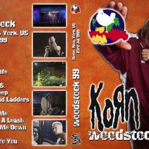 Korn 1999-07-23 Rome, NY DVD