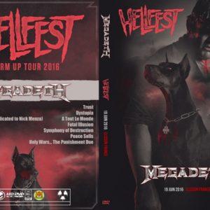 Megadeth 2016-06-19 Hellfest, Clisson, France DVD