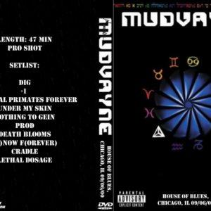 Mudvayne 2000-09-06 House Of Blues, Chicago, IL DVD